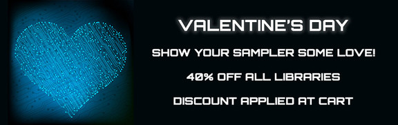 Binary Music Valentine's Day Sale
