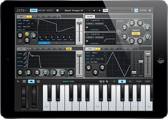 Cakewalk Z3TA+ for iOS