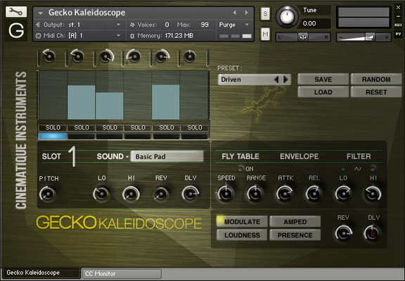 Gecko Kaleidoscope