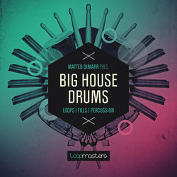 Matteo DiMarr Big House Drums