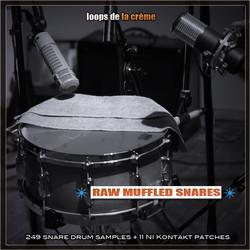 Loops de la Crème Raw Muffled Snares