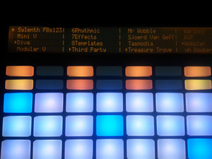 Mabelton Diva Ableton Push Integration Pack