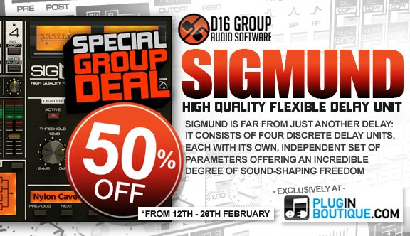 Plugin Boutique Sigmund group deal