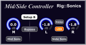 Rig::Sonics Mid/Side Controller