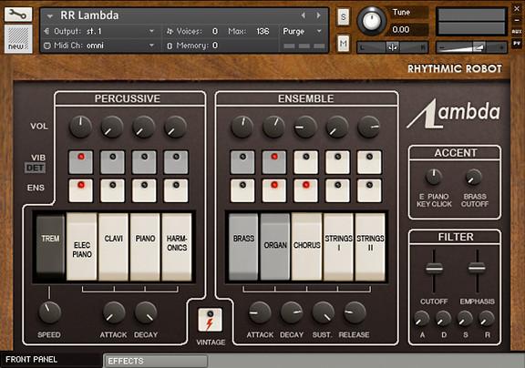 Rhythmic Robot Lambda
