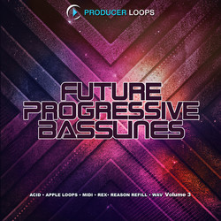 Producer Loops Future Progressive Basslines Vol 3