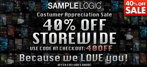Sample Logic Customer Appreciation Sale