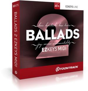 Toontrack Ballads 2 EZkeys MIDI