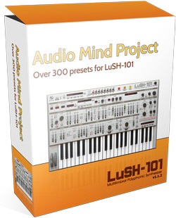 Audio Mind Project Expansion Vol 1 & 2 for LuSH-101