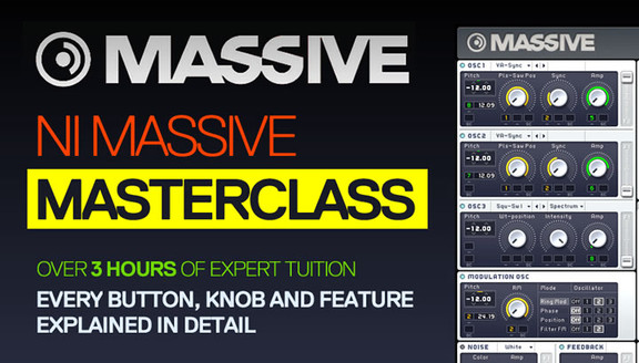ADSR Sounds NI Massive Masterclass
