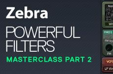 ADSR Zebra Filters Masterclass