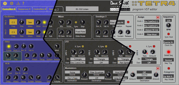 codeKnobs DSI Tetra Program Editor VST