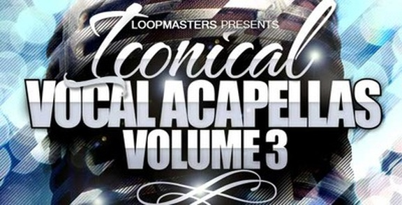 Iconical Vocal Acapellas Vol 3