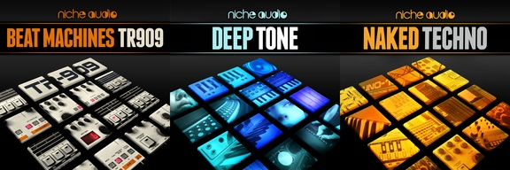 Niche Audio sample packs