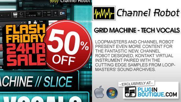 50% off Minimal Tech Vox at Plugin Boutique