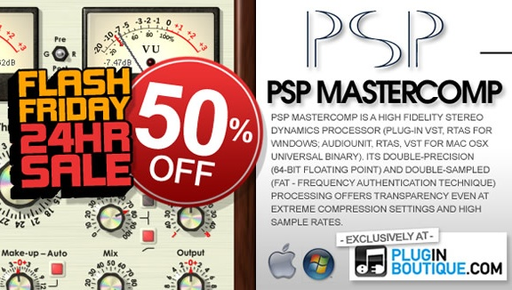 PSP MasterComp 50% off