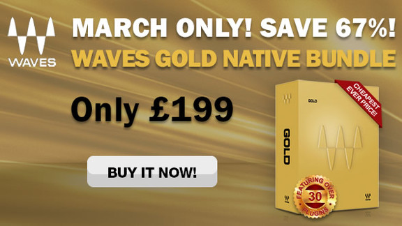 Waves Audio Gold Bundle