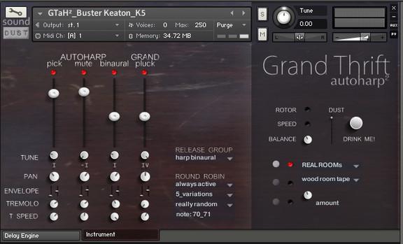 Sound Dust GrandThrift AutoHarp2