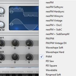 Tone2 Nemesis synthesis modes