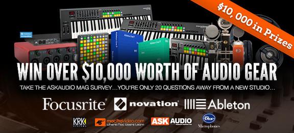 AskAudio Mag contest