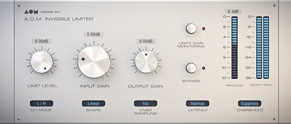 A.O.M. Invisible Limiter