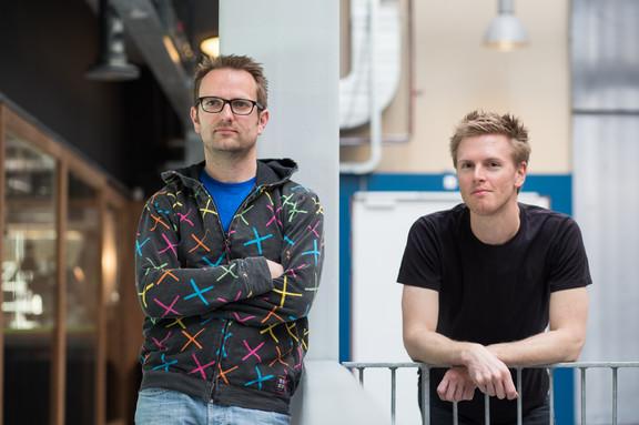 Floris Klinkert and Frederik Slijkerman