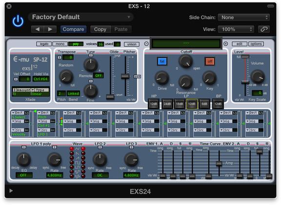 Logic Pro X Themes EXS12