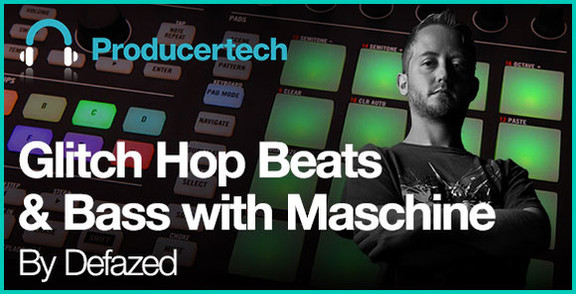 Glitch Hop Beats & Bass with Maschine