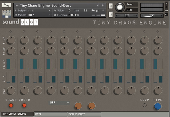 Sound Dust Tiny Chaos Engine