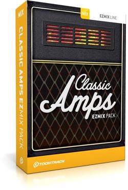 Toontrack Classic Amps EZmix Pack