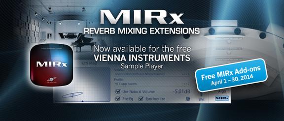 VSL MIRx Convolution Reverb Extensions
