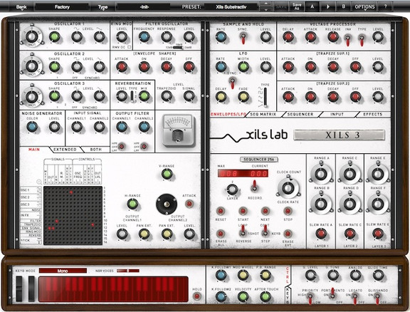 XILS 3 synthesizer