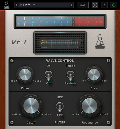 AudioThing Valve Filter VF-1