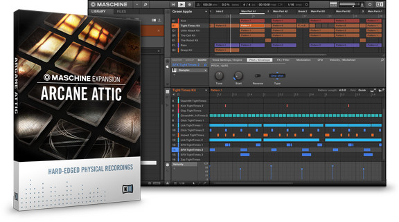 Native Instruments Arcane Attic