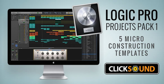 ClickSound Logic Pro Projects Pack 1