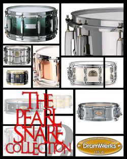 Drum Werks The Complete Pearl Snares Samples Collection