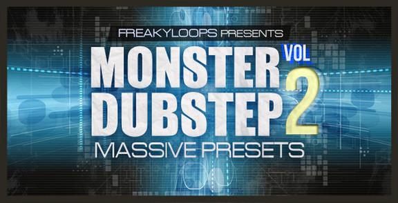 Freaky Loops Monster Dubstep Massive Presets Vol 2