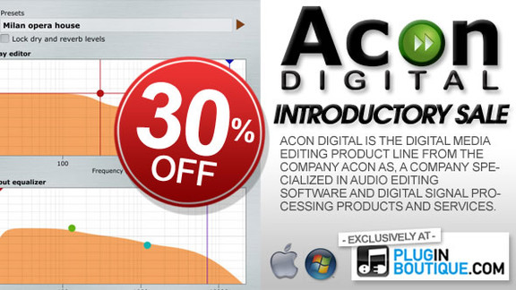 Acon Digital 30% off