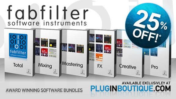 25% off FabFilter Bundles