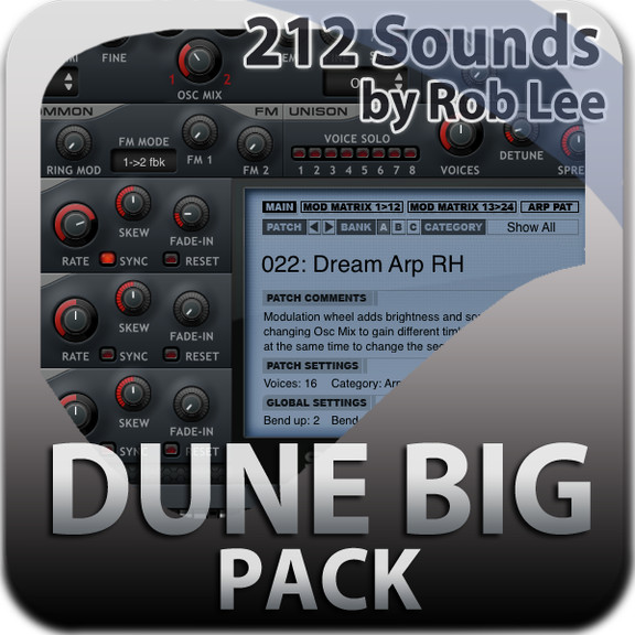 Rob Lee Music DUNE Big Pack