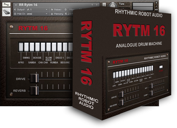 Rhythmic Robot Rytm16