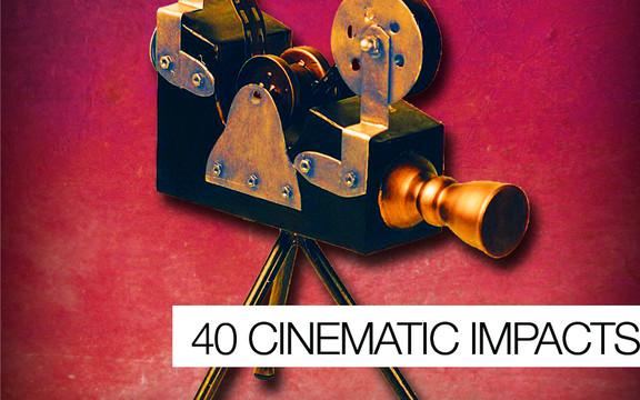 Samplephonics 40 Cinematic Hits