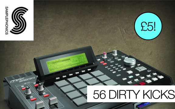 Samplephonics 56 Dirty Kicks