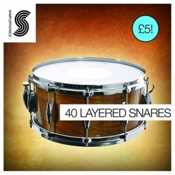 Samplephonics 40 Layered Snares