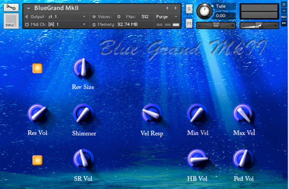 SampleTekk Blue Grand MkII