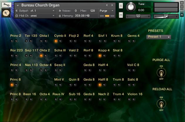 Bigcat Bureu Organ
