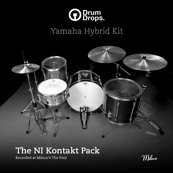 Drumdrops Yamaha Hybrid Kit for Kontakt