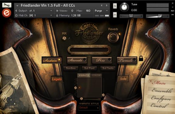 Embertone Friedlander Violin 1.5