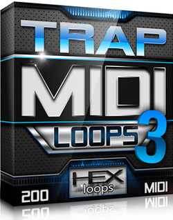 Hex Loops Trap MIDI Loops 3