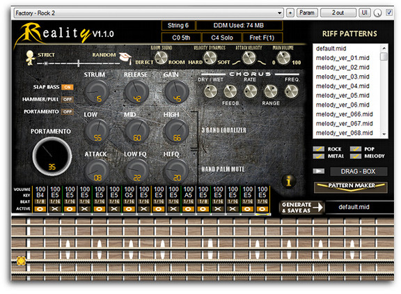 Iridium Iris Software Reality Bass
